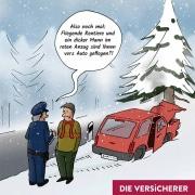 weihnachten-unfall-polizei-Christian Willmann Versicherungsmakler Mannheim-KFZ-Kaskoversicherung