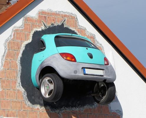 Auto Haus Wand Eigenschadendeckung KFZ Versicherung Versicherungsmakler Christian Willmann Mannheim