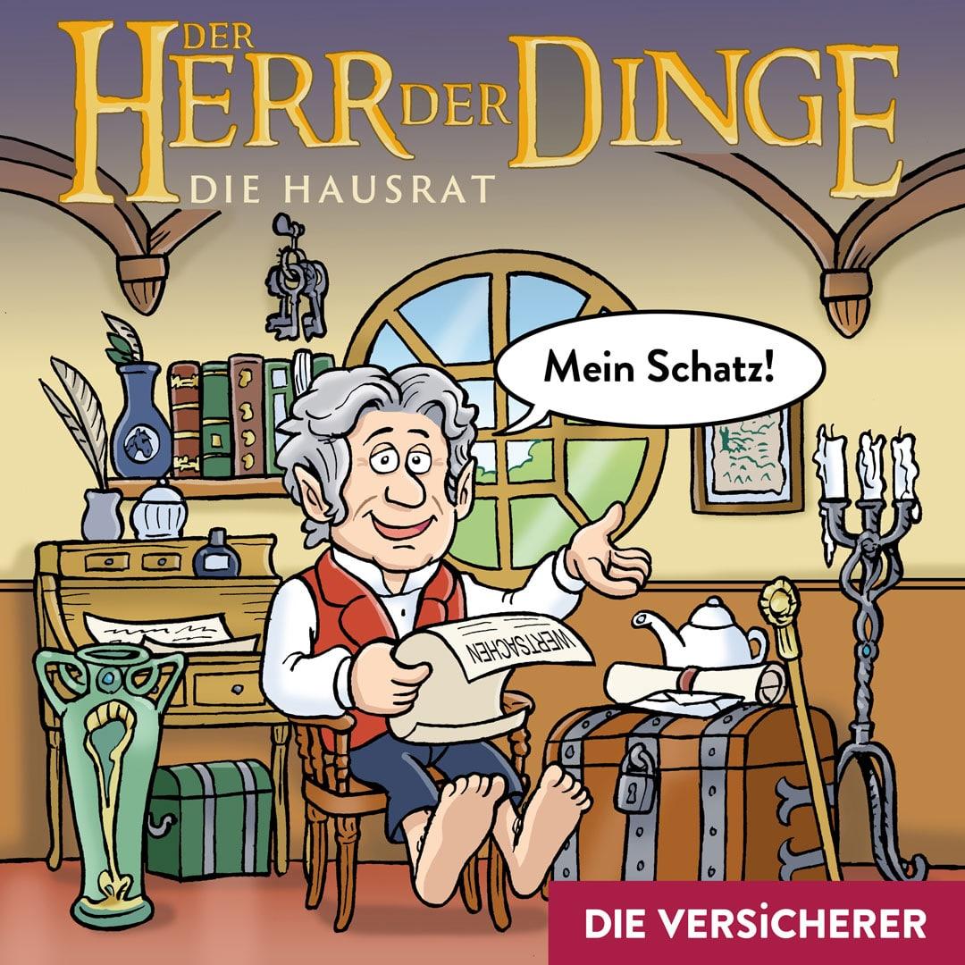 Der Herr der Dinge Hausrat Hausratversicherung Christian Willmann Versicherungsmakler Mannheim
